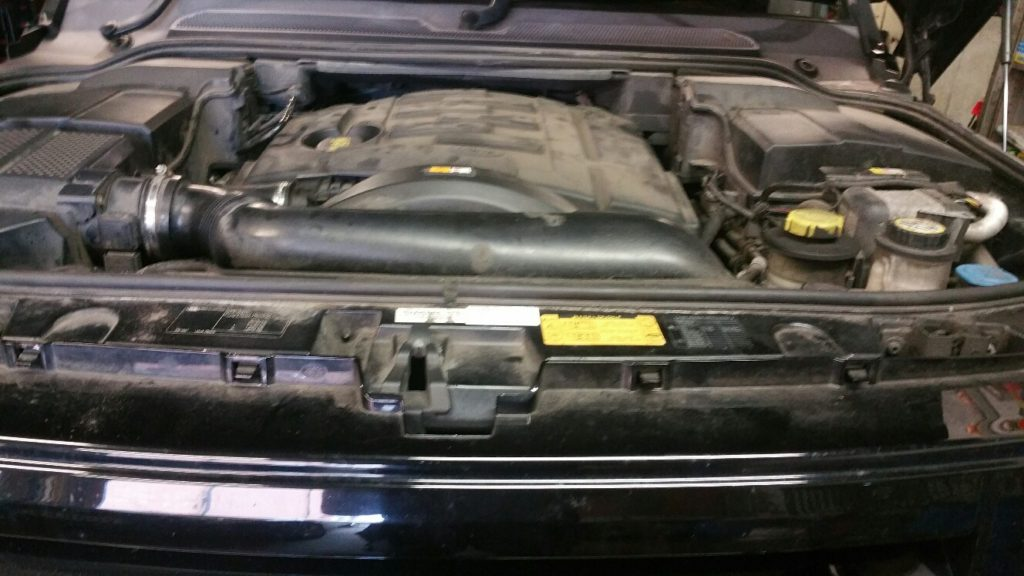 Range Rover Sport EGR delete and ECU remap