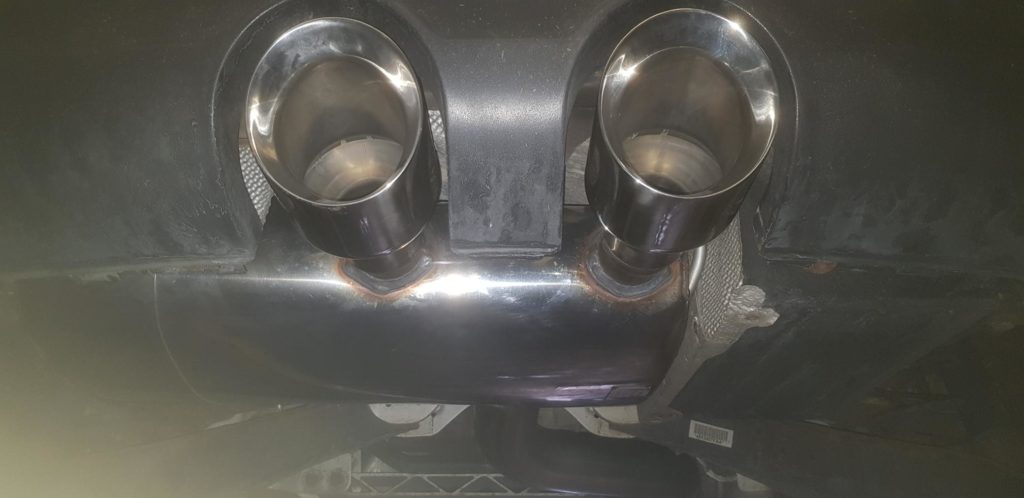 Milltek exhaust system for R32 Mark 5 Golf fitted and tuned at Tuning Emporium